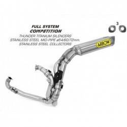 Arrow competition complete exhaust for BMW S 1000 RR 2009-2014