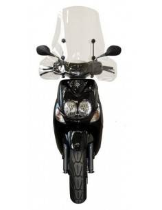 2935/A Fabbri windshield with fasteners for Yamaha-MBK Neos-Neos 4 50-100 2007-2016
