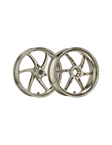 Pair of OZ Gass RS-A motorcycle rims in forged aluminum for MV Agusta Brutale 1998-2008 GAM5517MV-AN/PO1