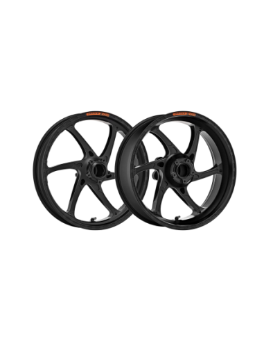 Pair of OZ Gass RS-A motorcycle rims in forged aluminum for Suzuki GSX-R 1000 2005-2017 GAB6017SU-AN/PO4